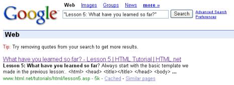 Título que aparece en Google